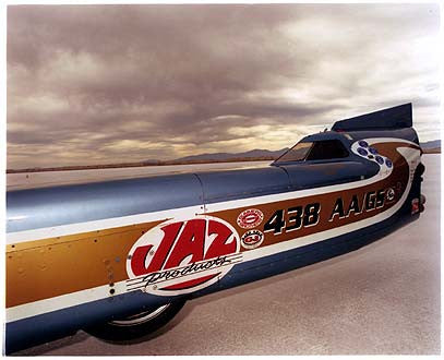 Haas Racing Streamliner, Bonneville, Utah 2003