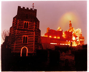 St Clement's Church and Proctor&Gamble, West Thurrock 2004