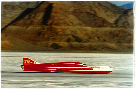 Ferguson Racing Streamliner, Bonneville, Utah 2003