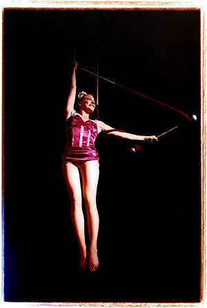 "Trapeze Act, ""Tease-o-Rama"" Hollywood 2003"