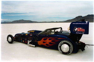 Mike Welch - Roadster (side-on), Bonneville, Utah 2003
