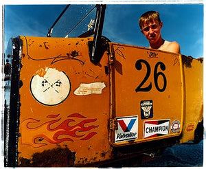 Otto in his Model T, Bonneville, Utah 2003