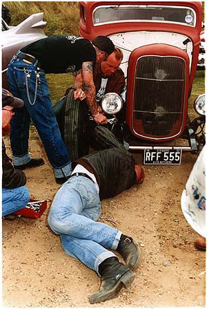 The Cleavers, 'Auto butchers', Norfolk 2003