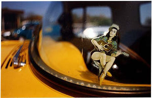 Guitar Girl Decal, Norfolk 1998