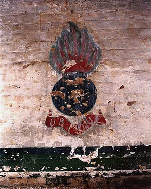 Insignia of Royal Engineers, Coalhouse Fort 2003