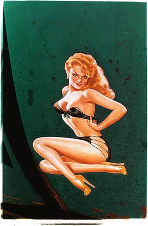 Pin up decal, Sweden 2004