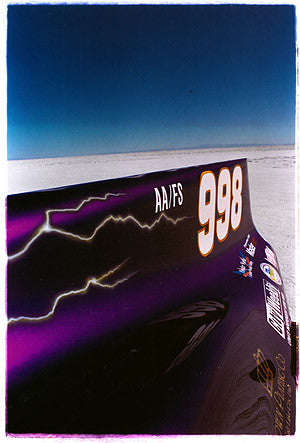 Royal Purple (detail), Bonneville, Utah 2003
