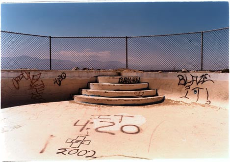 North Shore Yacht Club Pool, Salton Sea, California 2002