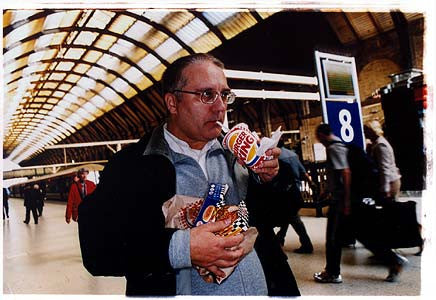 Ray the Poet, Kings Cross, London 2004