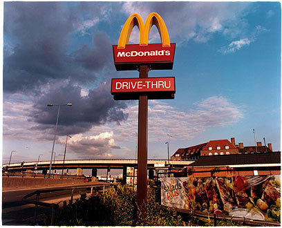 MacDonald's Sign, Bow Interchange, London 2004