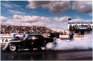 Bert Englefield - Hot Rod from Hell, European Finals, Santa Pod 2004