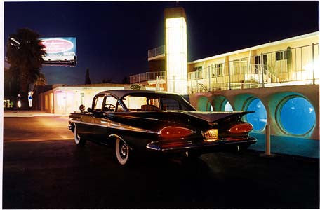 Patrick's Bel Air, Glass Pool Motel, Las Vegas, 2001