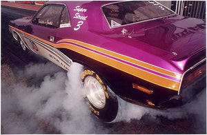 Jonas Dontanus - Burn out, Easter Thunderball, Santa Pod 2005