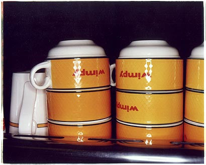 Cups - Wimpy Bar, London Road, Mordon, London 2004