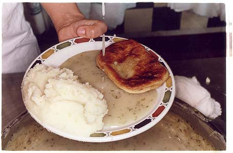 Pie, Mash & Liquor - Manzes, Chapel Market, Islington, London 2004