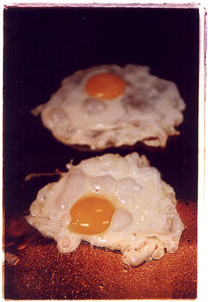 Fried Eggs - Seasons, Gloucester Road, London 2004