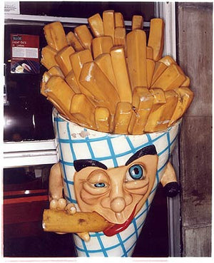 Chip Head, Old Compton Street, London 2004