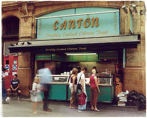 Canton Chinese Takeaway, Oxford Circus, London 2004