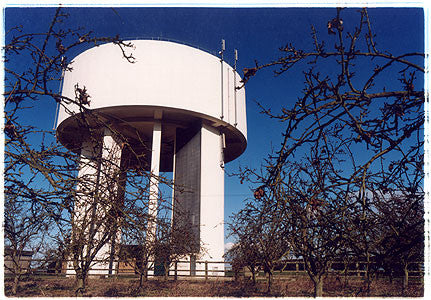 0°00' longitude, 52°21N' latitude, Water Tower, Bluntisham, Cambridgeshire 2000