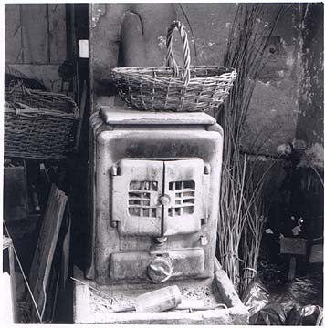 Coal heater, Swaffham, Norfolk 1986
