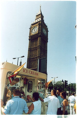 Ice Cream Van I, Houses of Parliament, London 2004