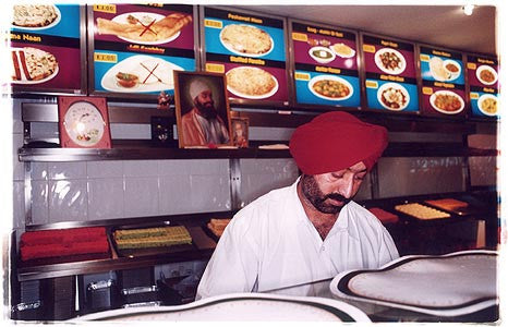 Roxy New Asian Tandoori Restaurant, Southall, London 2004