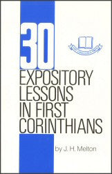 30 Expository Lessons in First Corinthians - Book Heaven - Challenge Press from CHALLENGE PRESS
