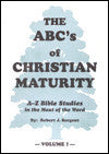 The ABC's Of Christian Maturity (Volume 1) - Book Heaven - Challenge Press from BIBLE BAPTIST CHURCH PUBL