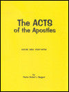 The Acts Of The Apostles - Book Heaven - Challenge Press from BIBLE BAPTIST CHURCH PUBL