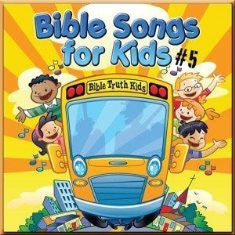 Bible Songs for Kids #5 (CD)