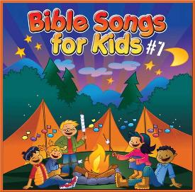 Bible Songs for Kids #7 (CD)