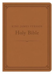 Compact  Gift & Award KJV Bible - Reference Edition (Tan)