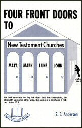 Four Front Doors to New Testament Churches - Book Heaven - Challenge Press from CHALLENGE PRESS