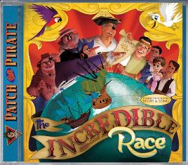 The Incredible Race (CD)