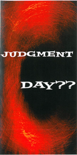 Judgment Day?? Tract - Book Heaven - Challenge Press from CHALLENGE PRESS