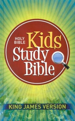 Kids' KJV Study Bible - Hardcover