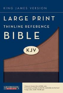 Large Print Thinline Reference KJV Bible - Book Heaven - Challenge Press from SPRING ARBOR DISTRIBUTORS - 1