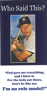 Mickey Mantle Tract - Book Heaven - Challenge Press from CHALLENGE PRESS