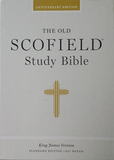 The Old Scofield Standard Study KJV Bible (Bonded Leather, Indexed)
