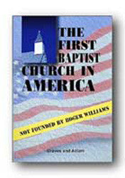 The First Baptist Church in America - Book Heaven - Challenge Press from BAPTIST SUNDAY SCHOOL COMMITTEE
