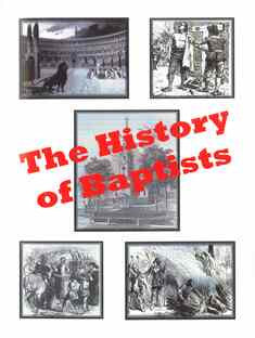 The History of Baptists - Book Heaven - Challenge Press from CHALLENGE PRESS