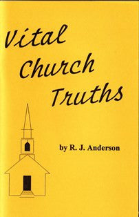 Vital Church Truths - Book Heaven - Challenge Press from CHALLENGE PRESS