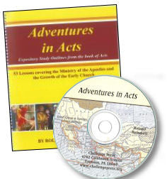 Adventure In Acts: The Disciples Of Christ In Action (Book and Reproducible Lessons on CD-ROM) - Book Heaven - Challenge Press from CHALLENGE PRESS