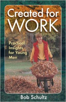 Created for Work: Practical Insights for Young Men - Book Heaven - Challenge Press from Send The Light Distribution