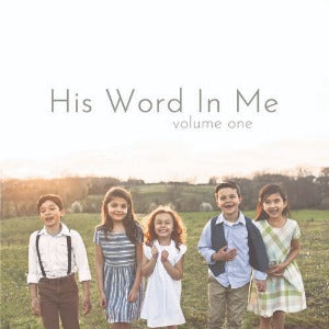 His Word in Me - Vol. 1 (CD)