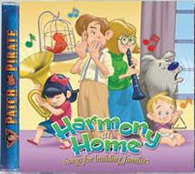 Harmony At Home - Songs For Building Families (CD) - Book Heaven - Challenge Press from MAJESTY MUSIC, INC.