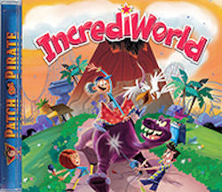 IncrediWorld (CD) - Book Heaven - Challenge Press from MAJESTY MUSIC, INC.