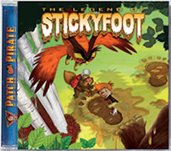 The Legend of Stickyfoot (CD) - Book Heaven - Challenge Press from MAJESTY MUSIC, INC.