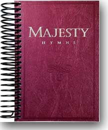 Majesty Hymns (Hymnal) Burgundy Spiral Bound - Book Heaven - Challenge Press from MAJESTY MUSIC, INC.
