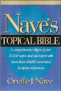 Nave's KJV Topical Bible - Book Heaven - Challenge Press from HENDRICKSON PUBLISHERS